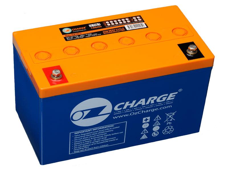 ozcharge 6v 200ah sealed agm battery ocb 200 6. Black Bedroom Furniture Sets. Home Design Ideas